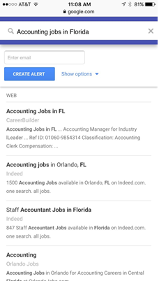 How To Use Google Alerts To Land A Job - Mentor Happy